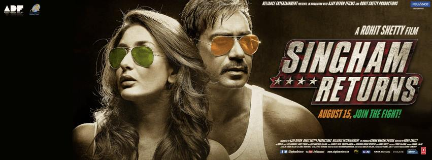 Singham Returns Movie Review : Bhushan Mahadani